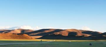 Mongolian landscape Stock Images