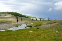 Mongolian Landscape Royalty Free Stock Image