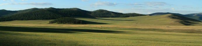 Mongolian Landscape and Nature Stock Image