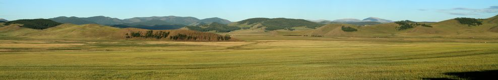 Mongolian Landscape and Nature Stock Photo