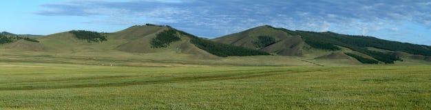 Mongolian Landscape and Nature Stock Photo