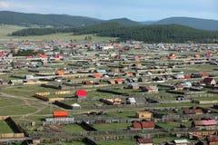 Mongolian landscape Royalty Free Stock Photo