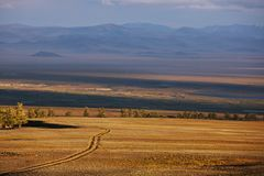 Mongolian landscapes Royalty Free Stock Photography