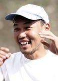 Mongolian Man stock photos