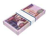 Mongolian money isolated on white background. Royalty Free Stock Image