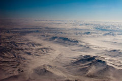 Mongolian mountainous landscape Stock Images