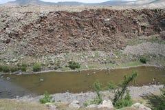 Mongolian river Stock Photos