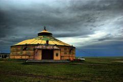 Mongolian tent Stock Images
