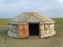 Mongolian tent Stock Image