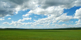 Mongolian view Stock Images