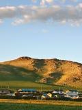 Mongolian village Royalty Free Stock Photography