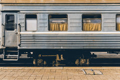Mongolian Vintage Train stock photos