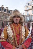 Mongolian warrior Stock Photography