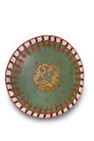 Mongolian warrior shield. Stock Image