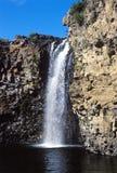 Mongolian waterfall Royalty Free Stock Photo