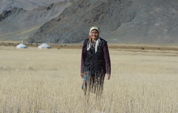 Mongolian woman Stock Photography