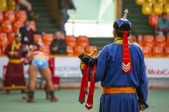 Free Mongolian Wrestlesrs Training Royalty Free Stock Photography - 143174417