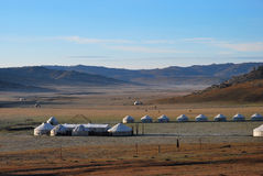 Mongolian yurt Stock Photography