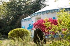 Mongolian Yurts Royalty Free Stock Image