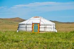 mongolianyurt Arkivfoto