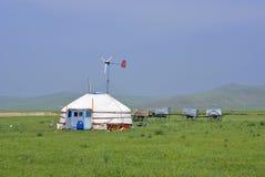 mongolianyurts Стоковое Фото