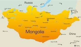 Mongoliet Arkivbilder