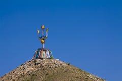 Mongoliet totem royaltyfri bild