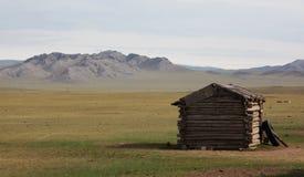 Mongolische Hütte stockbild