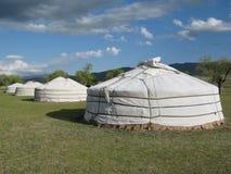 Mongolischer Gers Lizenzfreie Stockfotos