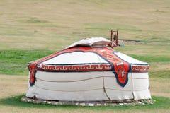 Mongolisches jurt Lizenzfreie Stockfotos