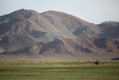 Mongolisches Motorrad lizenzfreies stockbild