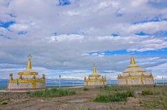 Mongolisk Obo fotografering för bildbyråer