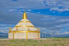 Mongolisk Obo arkivfoto