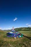 Mongoliska Oovoo Arkivbild