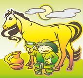 Mongols Stock Image