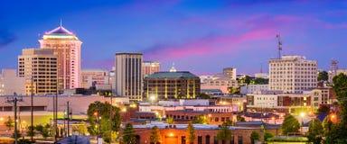 Mongomery Alabama panorama Zdjęcia Royalty Free