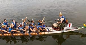 2015 Mongomery smoka łodzi festiwal Zdjęcie Royalty Free