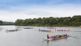 2015 Mongomery smoka łodzi festiwal Zdjęcie Stock