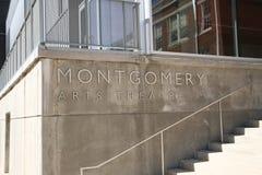 Mongomery sztuk Theatre Obraz Royalty Free