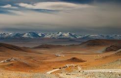 Mongools landschap Stock Afbeeldingen