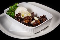 Mongools vlees Royalty-vrije Stock Fotografie