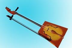 Mongoolse favoriete dansen en volksinstrumenten Royalty-vrije Stock Afbeeldingen