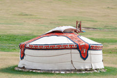 Mongoolse jurt Royalty-vrije Stock Foto's