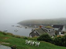 Monhegan-Insel, Maine Stockbild