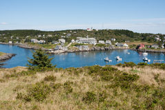 Monhegan Island Stock Photo