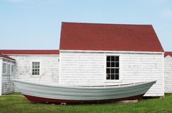 Monhegan Island Museum. Museum at Monhegan Island, Maine Royalty Free Stock Image