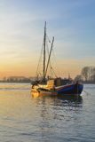 Monheim am Rhein, Рейн, Германия Стоковое Изображение