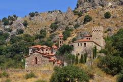 Moni Pithari monastery,Lesbos Stock Images
