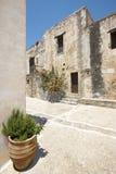 Moni Preveli monastery in Crete. Greece Stock Photo