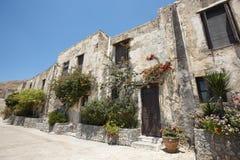 Moni Preveli monastery in Crete. Greece Royalty Free Stock Photo